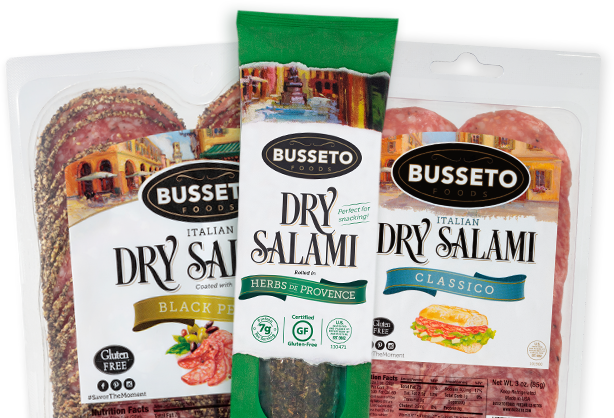 Salami Product Packaging